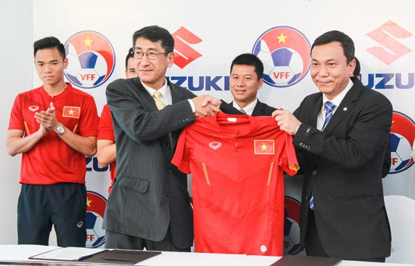 Suzuki tiếp tục tài trợ