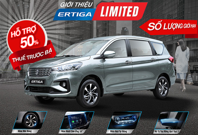 Hỗ trợ thuế trước bạ khi mua xe ô tô Suzuki