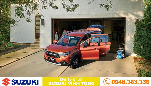 Suzuki XL7 với phong cách mới - Thực dụng soán ngôi vương