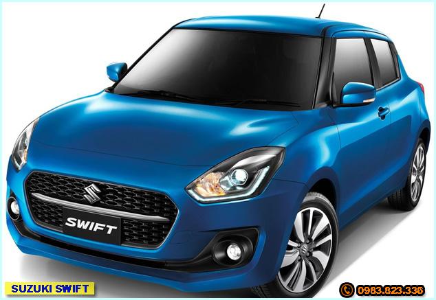 Giá xe Suzuki Swift lăn bánh tại Phú Yên