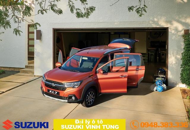 Suzuki XL7 với phong cách mới: Thực dụng soán ngôi vương