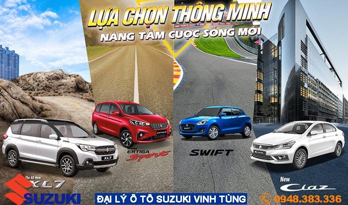 Mua xe ô tô Suzuki: Sự chọn lựa thông minh của khách hàng Việt