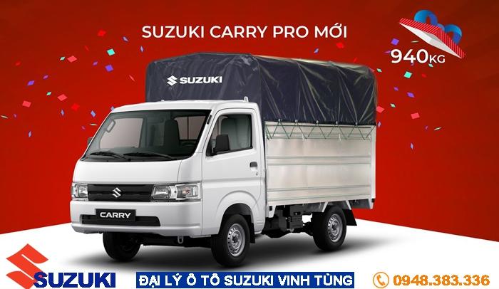 Suzuki Carry Pro: Giải pháp tăng doanh thu cùng VUA TẢI NHẸ
