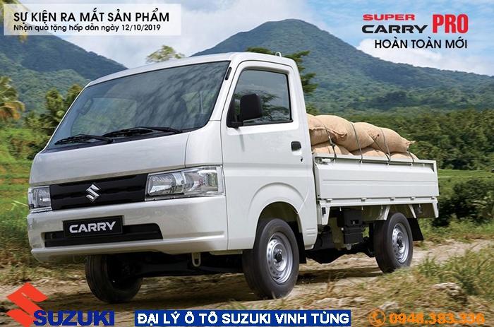 Điểm nổi bật của Suzuki Carry Pro: Vua xe tải nhẹ